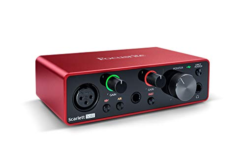 Focusrite Scarlett Solo (3rd Gen) USB Audio Interface with Pro Tools |...