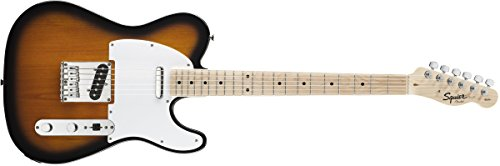 Squier 6 String Solid-Body Electric Guitar, Right Handed, 2 tone...