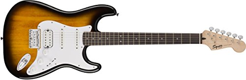 Squier by Fender Bullet Stratocaster Beginner Hard Tail Electric...