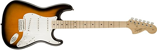 Fender 6 String Solid-Body Electric Guitar, Right Handed, 2-Color...