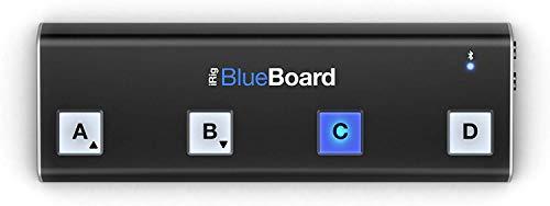 IK Multimedia iRig Blueboard Wireless Floor Controller for iOS and Mac