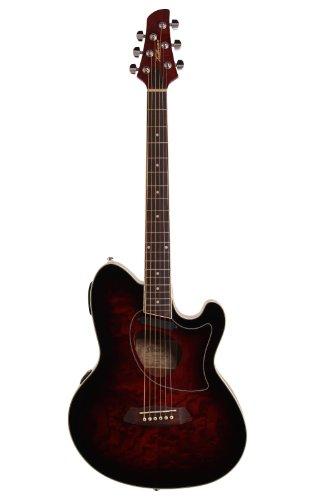 Ibanez Talman TCM50 Cutaway Acoustic-Electric Guitar Vintage Brown...