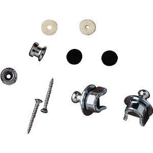 Fender Straplock W/ Button Chrome