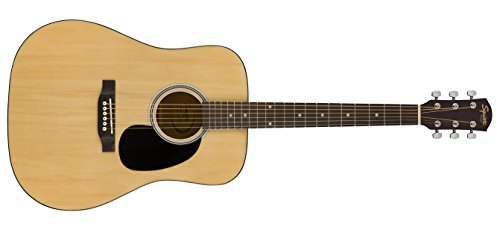 Squier by Fender SA-150 Squier Beginner Dreadnought Acoustic Guitar -...