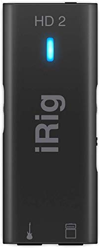 IK Multimedia iRig HD 2 digital guitar interface for iPhone, iPad and...