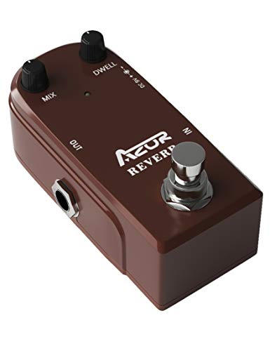 AZOR AP311 Spring Reverb Guitar Effect Pedal with True Bypass...