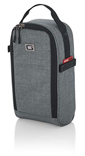 Gator Cases Transit Series Add-On Accessory Gear Bag; Grey Exterior...