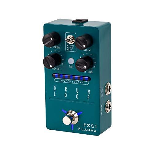 FLAMMA FS01 Drum Machine & Phrase Loop Pedal Guitar Pedal Mix Mode 20...