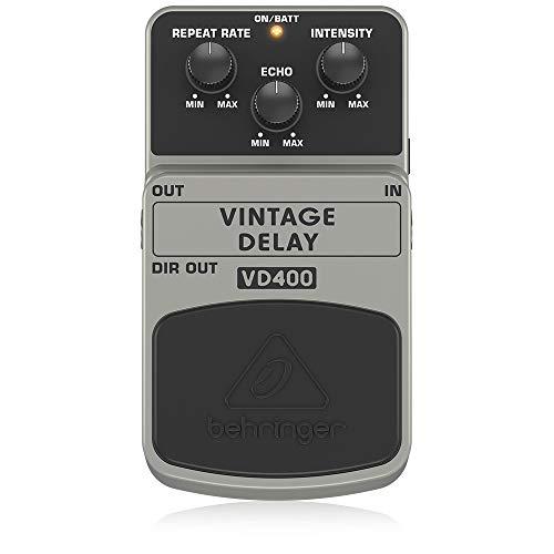 Behringer VD400 Vintage Analog Delay Effects Pedal,White