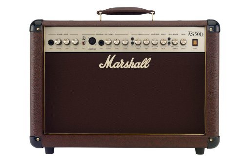Marshall Acoustic Soloist AS50D 50 Watt Acoustic Guitar Amplifier with...