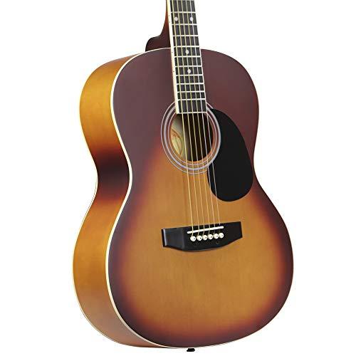 Kona Guitars K391-HSB Parlor Series Acoustic Guitar with Precision...