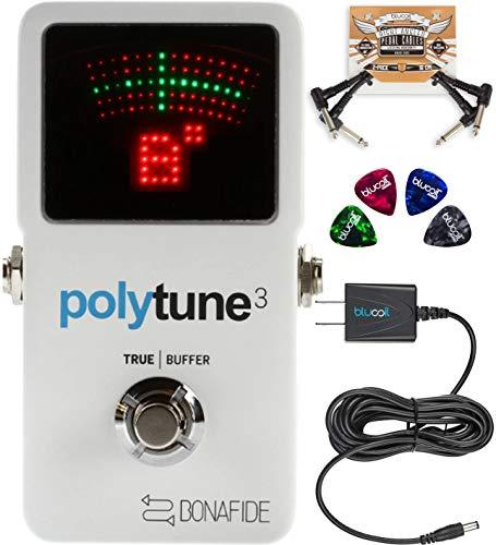 TC Electronic PolyTune 3 Polyphonic Tuner Built-In Bonafide Buffer...