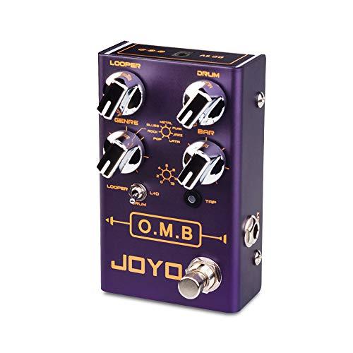 JOYO O.M.B R-06 R Series Looper & Drum Machine Pedal (LOOPER Cycle...