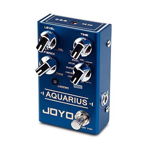 JOYO Aquarius R-07 R Series Digital Delay Effect Pedal 8 Digital Delay...