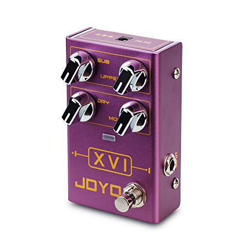 JOYO XVI R-13 R Series Octave Effect Pedal with MOD Effects and...