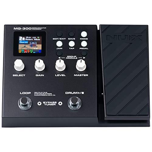 NUX MG-300 Multi Effects Pedal TSAC-HD Pre-Effects,Amp Modeling...
