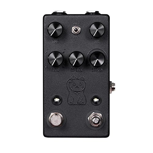 JHS Lucky Cat Delay Guitar Effects Pedal, Black