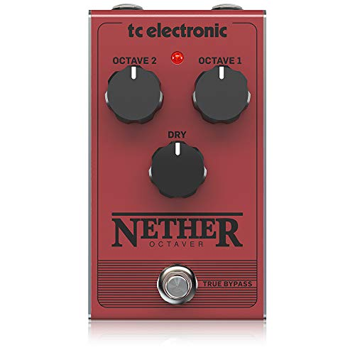 TC Electronic Electric Guitar Single Effect (NETHER OCTAVER)