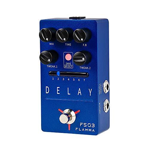 FLAMMA FS03 Guitar Delay Pedal Stereo Digital Delay Guitar Effects...