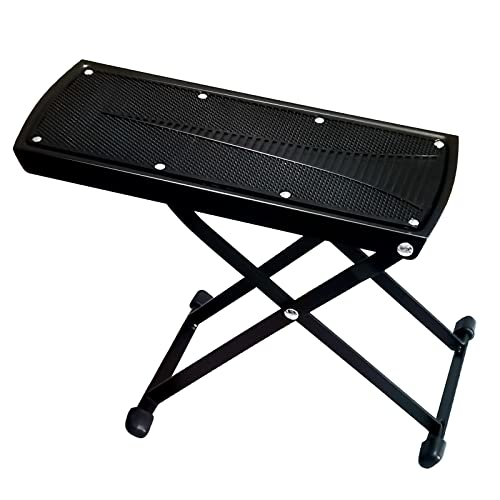 Guitar Foot Rest Stool Height Adjustable Footstool Excellent Stability...