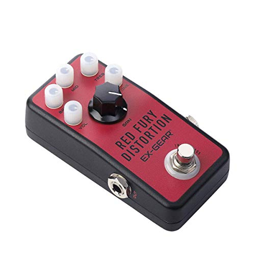 EX-GEAR Red Fury Distortion Pedal, The Classic Distortion Tone and...