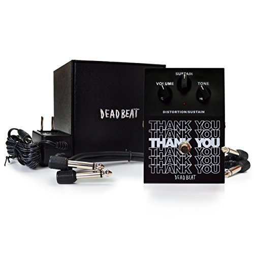 THANK YOU Distortion and Sustain Effect Pedal by Deadbeat Sound