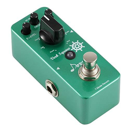 Donner Reverb Guitar Pedal, Verb Square Digital Reverb 7 Modes Room,...