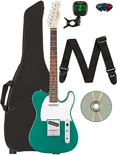 Fender Squier Affinity Telecaster - Race Green Bundle with Gig Bag,...