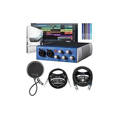 PreSonus AudioBox USB 96 2x2 USB Audio Interface for Windows & Mac...