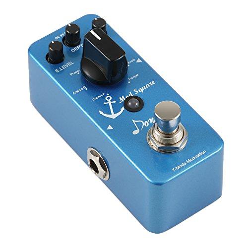 Donner Mod Square Guitar Effect Pedal, 7 Modulation Modes Chorus...