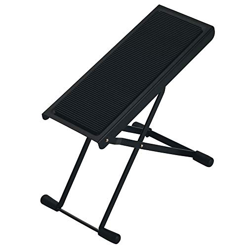 K&M 14670 Guitar Footrest Provides Six Easily Adjusted Height...