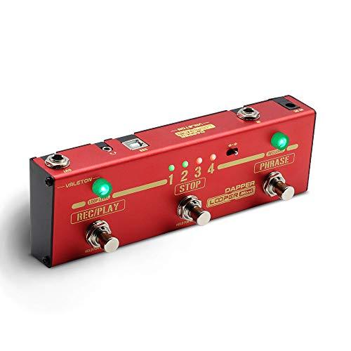 Valeton Dapper Looper Mini USB Storage Loop Station Looping Recording...