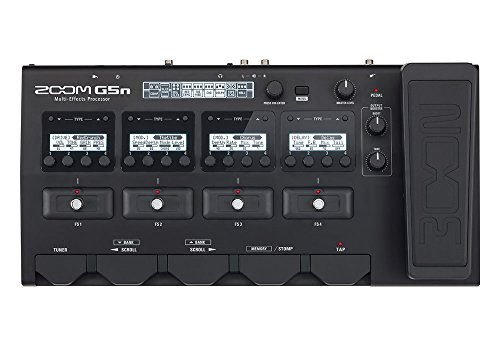 Zoom G5n Guitar Multi-Effects Processor with Expression Pedal, with...
