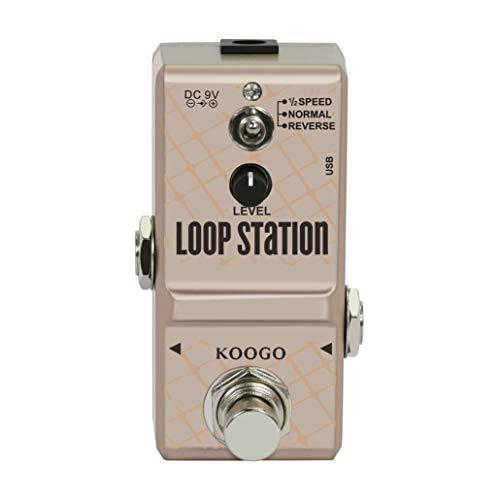 Koogo Loop Station Looper Effects Pedal Unlimited Overdubs 10 Minutes...