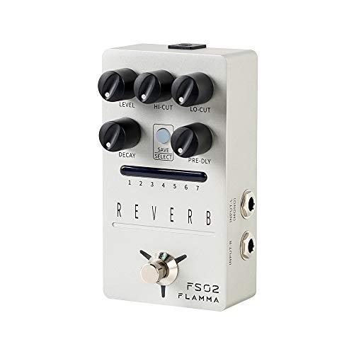 FLAMMA FS02 Reverb Guitar Pedal Stereo Digital Effects Pedal 7...