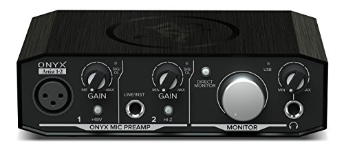 Mackie Audio Interface, Onyx Artist 1X2 USB Audio Interface (Onyx...