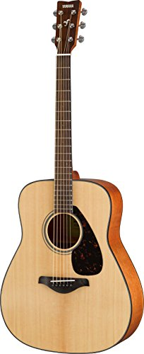 YAMAHA FG800 Solid Top Acoustic Guitar,Natural,Guitar Only