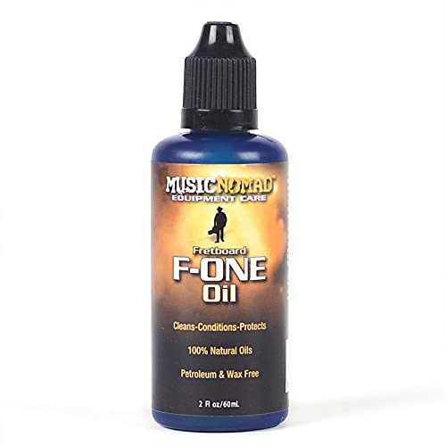 MusicNomad F-ONE Fretboard Oil Cleaner & Conditioner 2 oz (MN105)