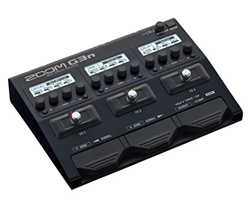 Zoom G3n Guitar Multi-Effects Processor Pedal, With 70+ Built-in...