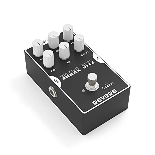 Caline Digital Reverb Pedal Guitar Effects Pedal with True Bypass...