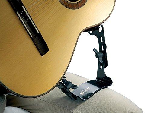 ErgoPlay Tröster Guitar Support; Black; Plastic; for Right-Handed...