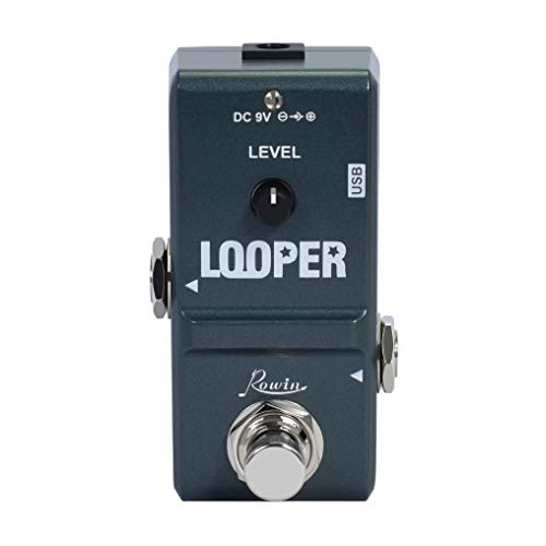 Rowin Tiny Looper Electric Guitar Effect Pedal 10 Minutes of Looping...