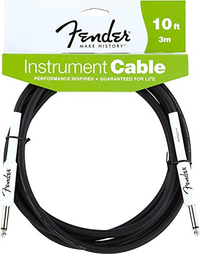 Fender Performance Series Instrument Cables (Straight-Right Angle) for...