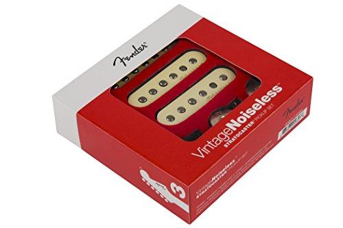 Fender Vintage Noiseless Stratocaster Pickups Set White, 3 Pickups