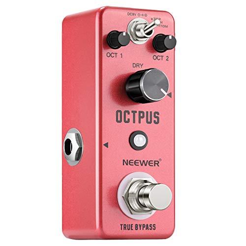 Neewer Digital Octave Guitar Effect Pedal Advanced Effects True Bypass...