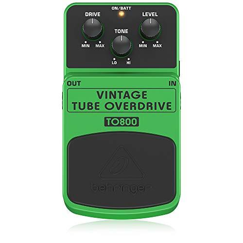 Behringer TO800 Vintage Tube-Sound Overdrive Instrument Effects...