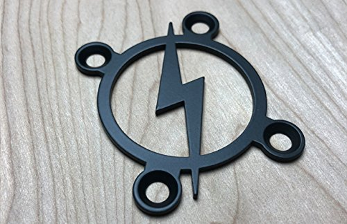 Retro Bolt! Neck Plate for your Custom Guitar or Bass - Industrial...