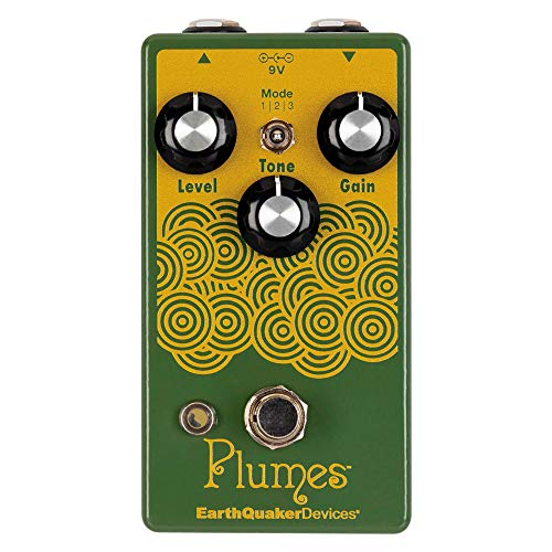 EarthQuaker Devices Plumes Small Signal Shredder Overdrive Guitar...