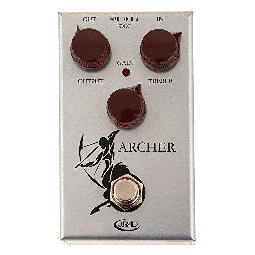 J. Rockett Audio Designs Tour Series Archer Overdrive and Boost Guitar...