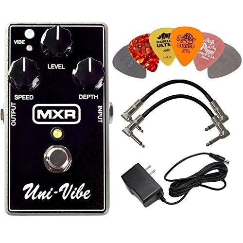 MXR M68 Uni-Vibe Chorus Vibrato Effects Pedal BUNDLE with AC/DC...